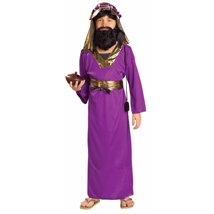 Purple Wiseman Child Costume