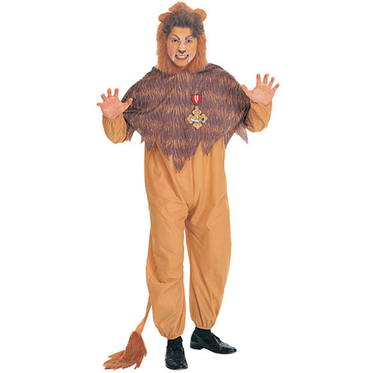 Cowardly Lion Wizard of Oz Mens Costumes