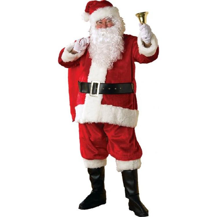 Santa Adult Deluxe Premium Santa Suit