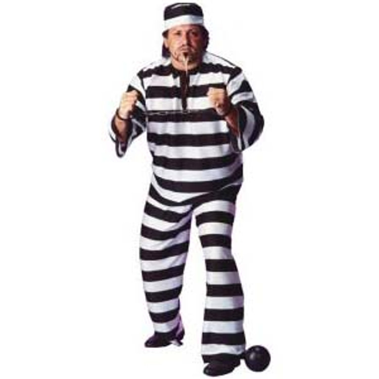 Prisoner Mens Costumes