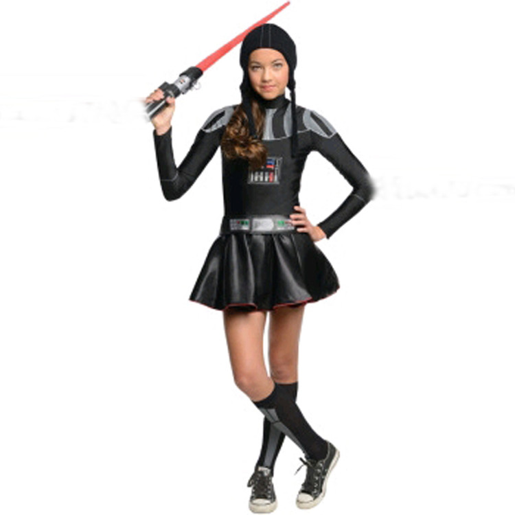 DARTH VADER GIRL Costume - TWEEN