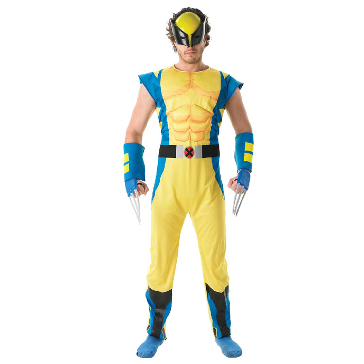 Wolverine X-Men Mens Costume