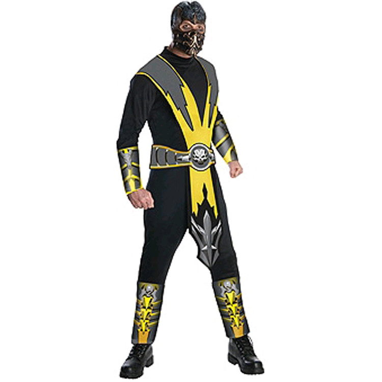 Mortal Kombat - Scorpion Men's Costume