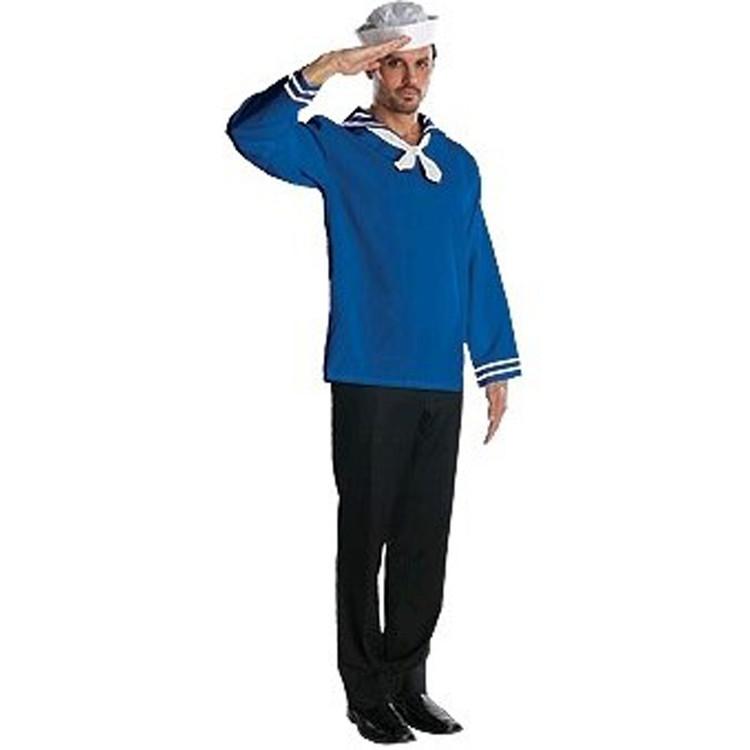 Sailor Blue Mens Costume