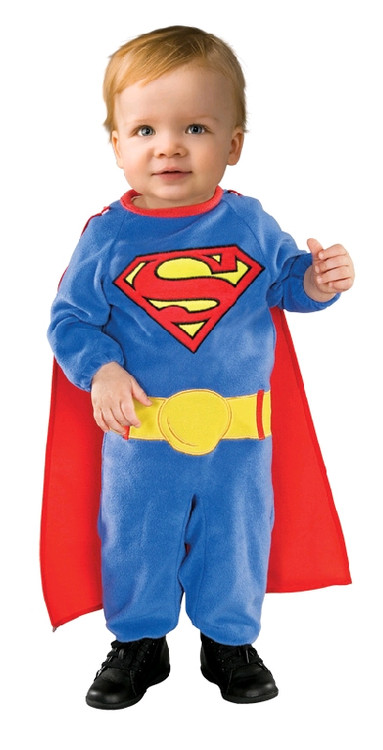 superman superhero deluxe mc boys costume. Black Bedroom Furniture Sets. Home Design Ideas