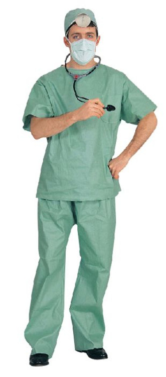 Doctor ER Mens Costume