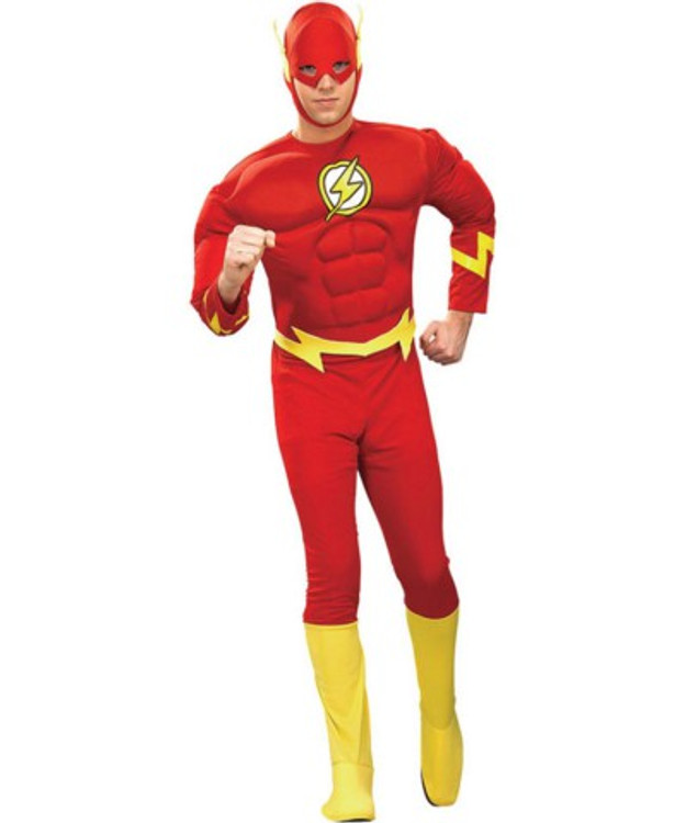 The Flash Muscle Chest Mens Costume