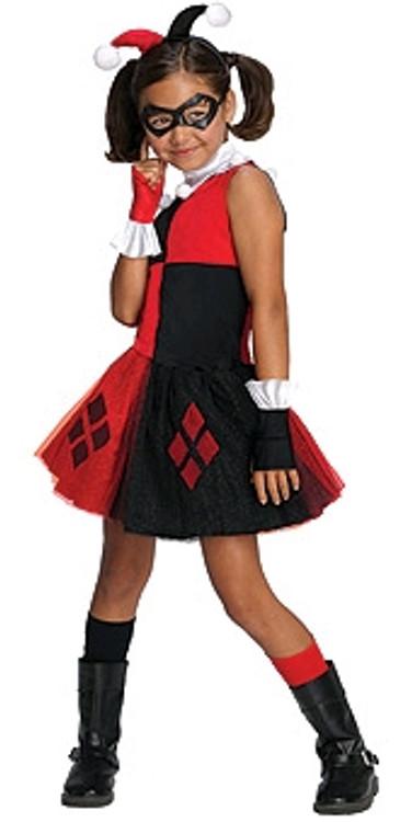 Harley Quinn Tutu Girls Costume