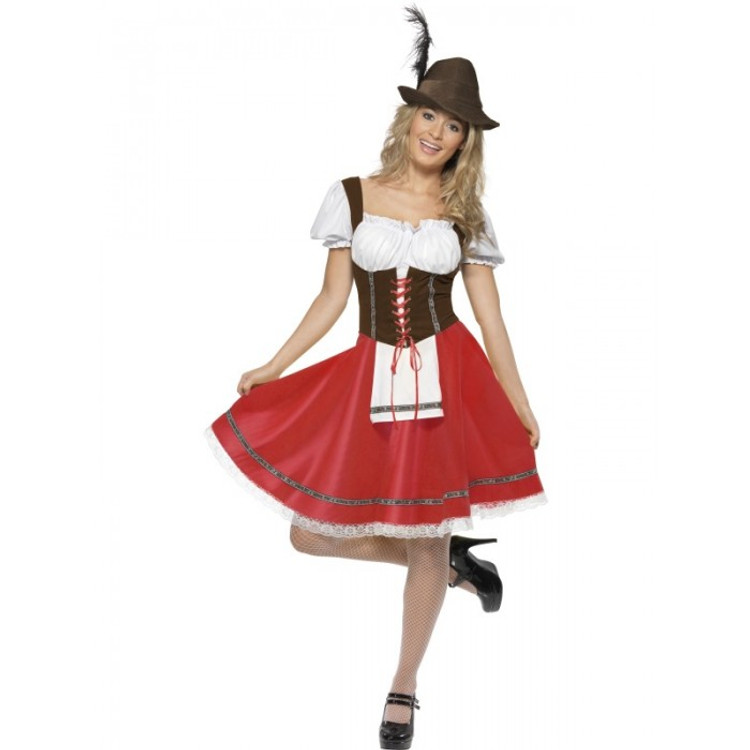 German Barvarian Wench Womens Costume