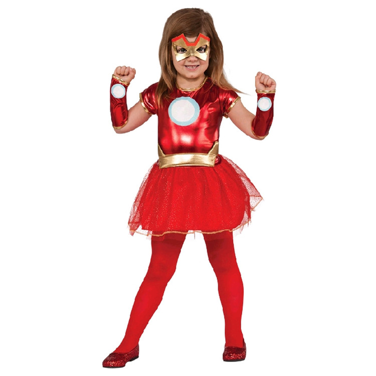 Iron Man - Lil Iron Lady Girls Costume