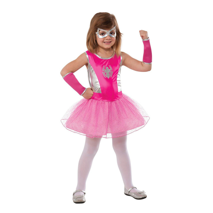 Spiderman - Spider Girl Pink Girls Costume