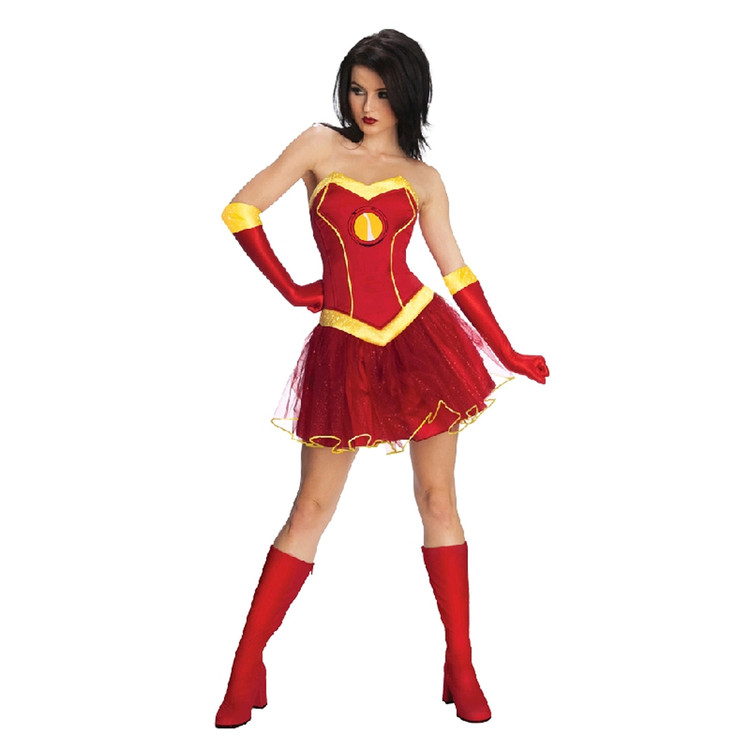 Iron Man - Iron Lady Sexy Womens Costume