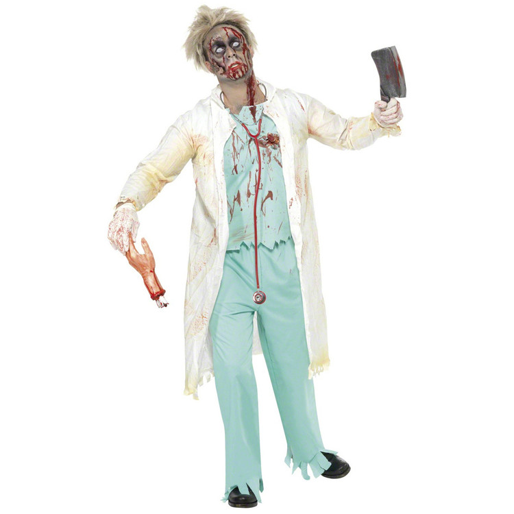 Zombie Doctor Mens Costume