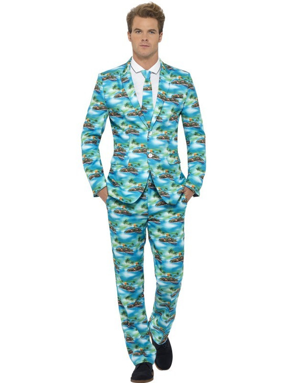 Aloha! Stand Out Men's Suit