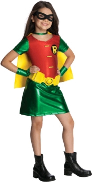 TEEN TITANS ROBIN Girls Costume