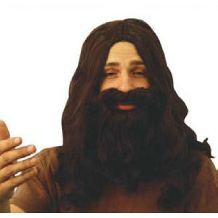 Jesus Wig & Beard Disciple Set