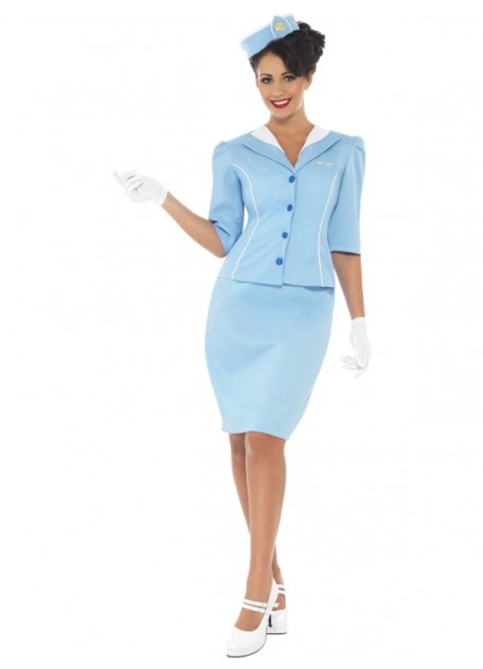 Air Hostess Women's Costume