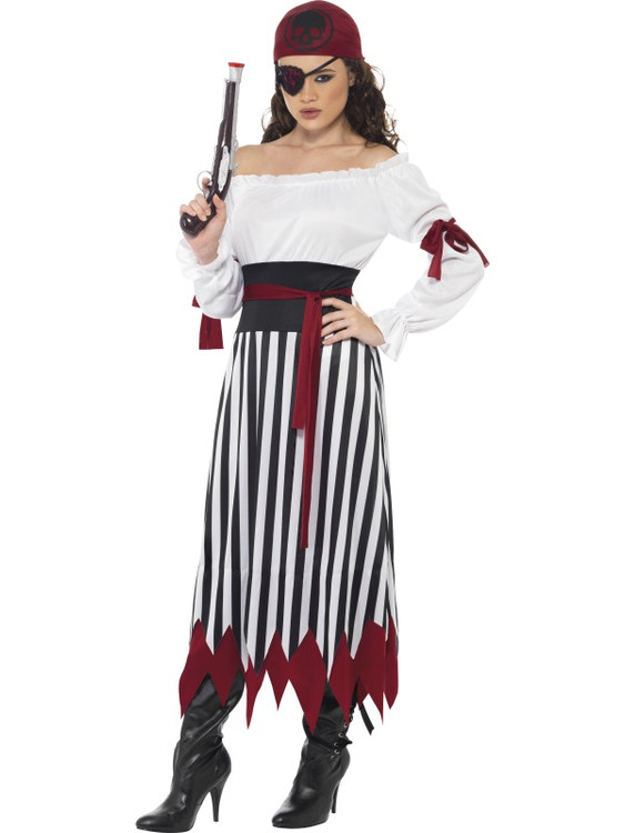 Pirate Lady Women's Costume, SM20803PRE