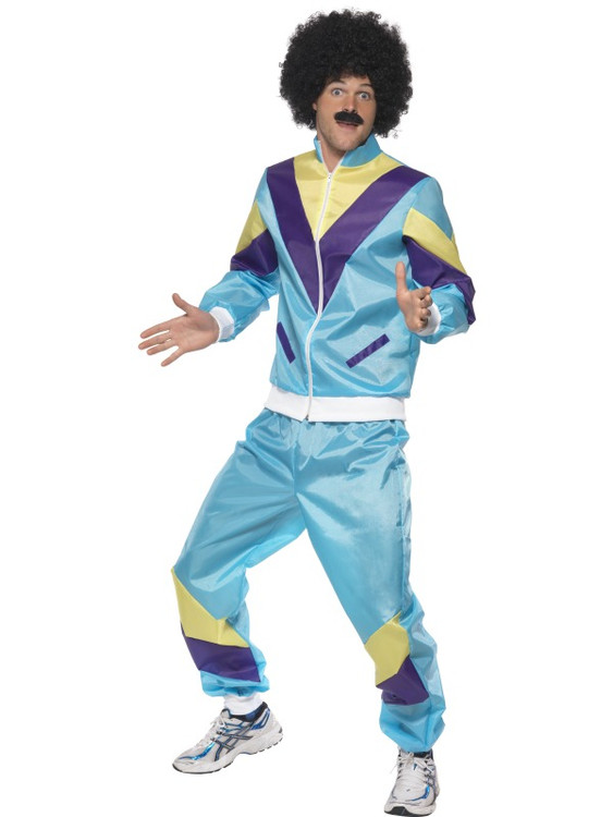 80s Shell Suit Men's Costume