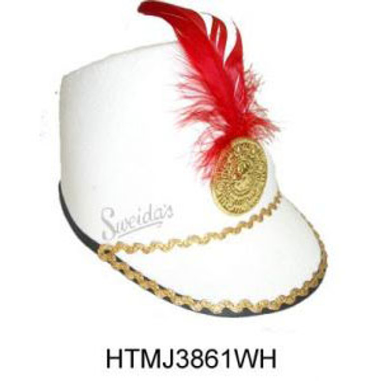Toy Soldier Hat- White