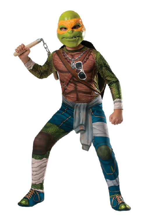 Teenage Mutant Ninja Turtle - MICHELANGELO CHILD Costume