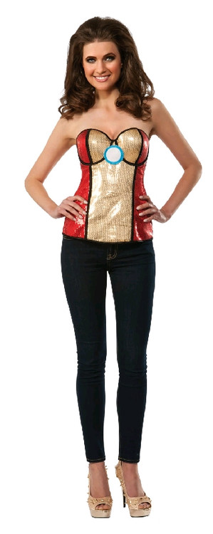 Iron Man - Iron Woman SEQUINED Corset
