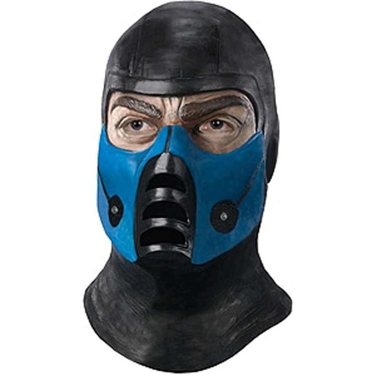 Mortal Kombat - SUBZERO OVERHEAD LATEX MASK