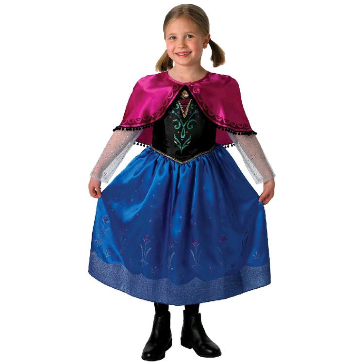 Frozen Anna Deluxe Girls Costume