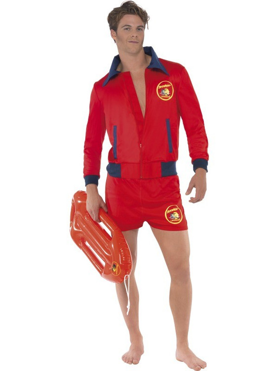 Baywatch Lifeguard Mens Costume