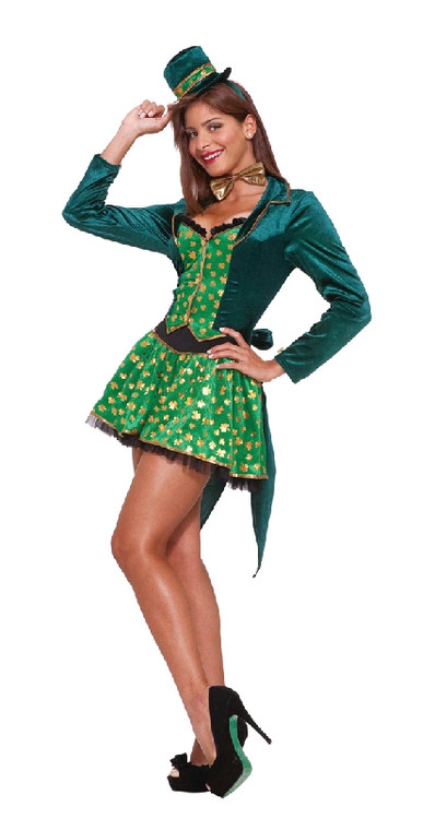 Leprechaun Sexy St Patricks Day Womens Costume