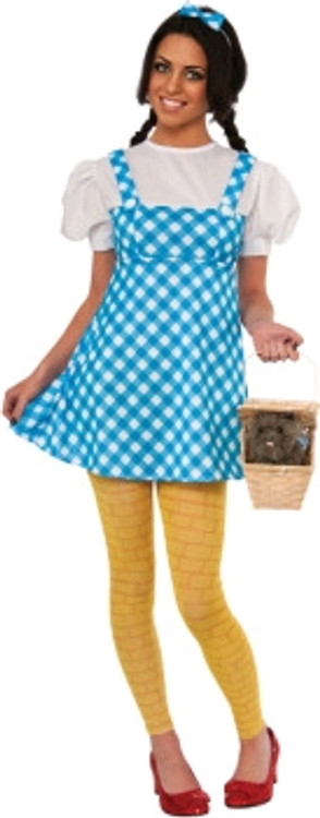 Wizard of Oz - Dorothy Yellow Brick Road Womens Costume
