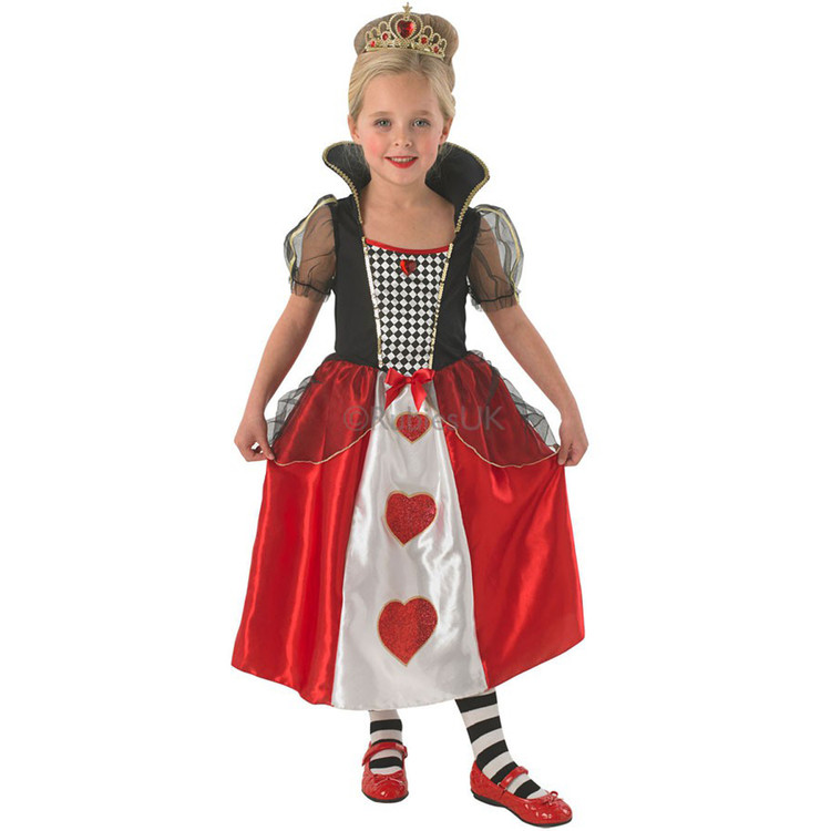 Queen of Hearts Girls Costumes