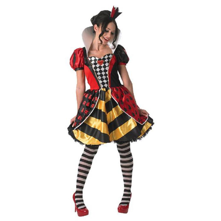 Queen of Hearts Red Queen Womens Costume