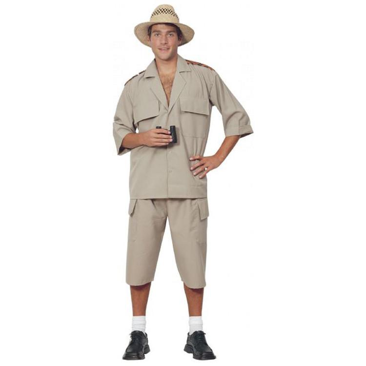 Safari Suit Adventurer Khaki Adult Costume  sc 1 st  Costume Direct & International Costumes | Costume Direct