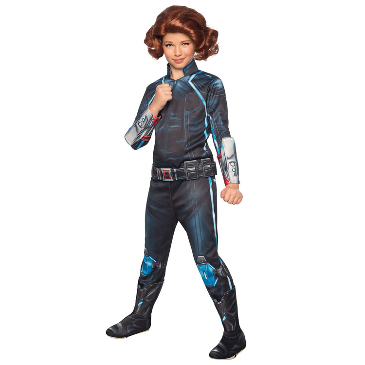 Black Widow Deluxe Avengers Girls Costumes