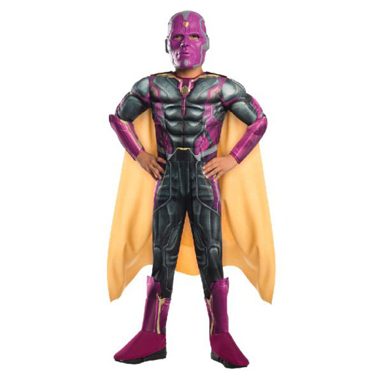 Vision The Avengers Deluxe Kids Costume