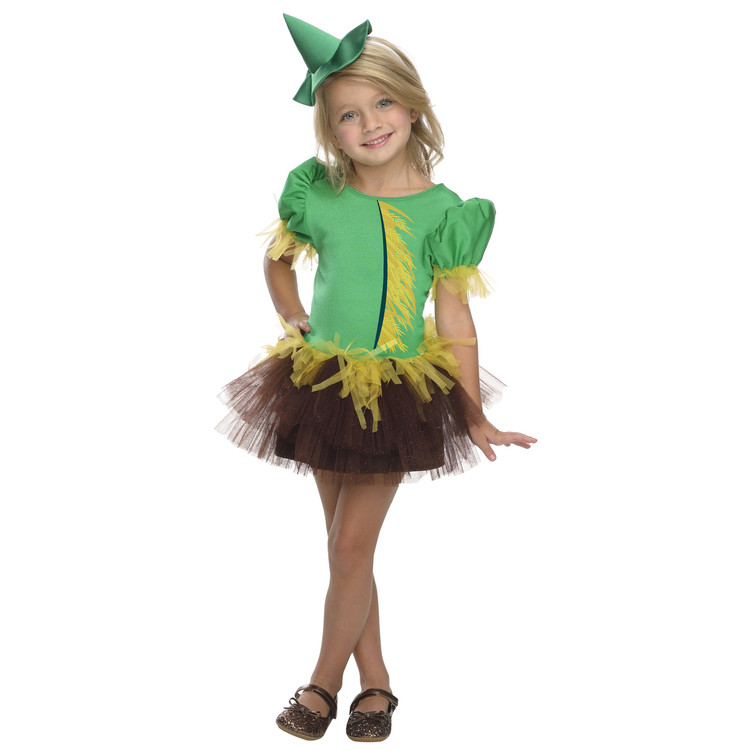 Wizard of Oz - Scarecrow Girls Tutu Costume
