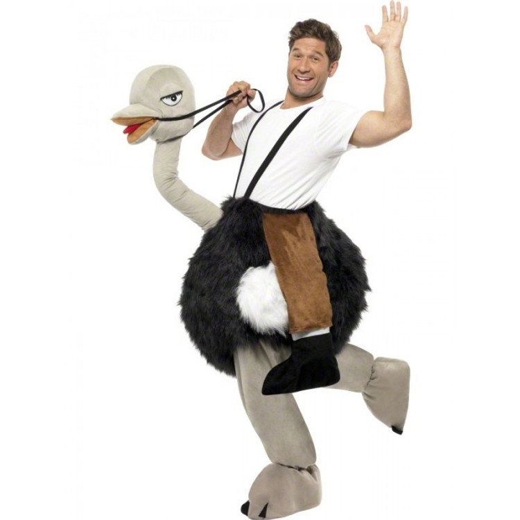 Ostrich Animal Adult Costume