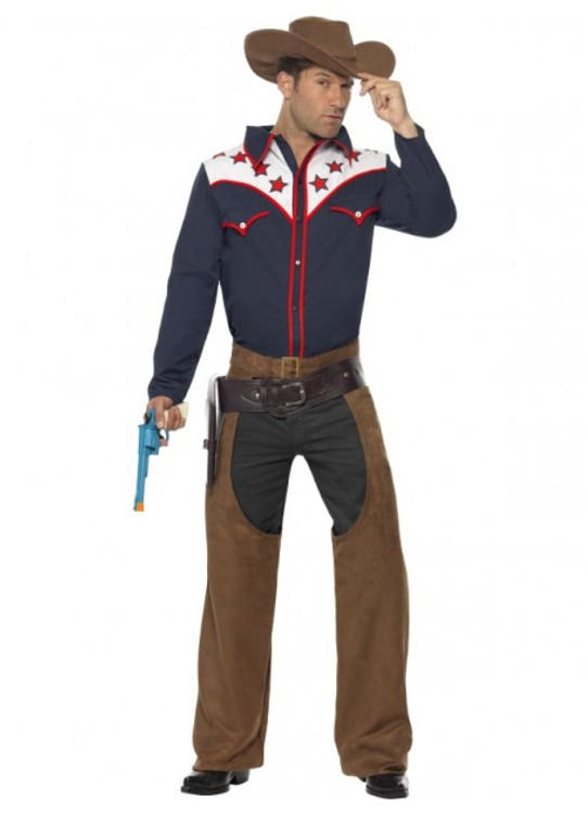Cowboy Rodeo Men's Costume