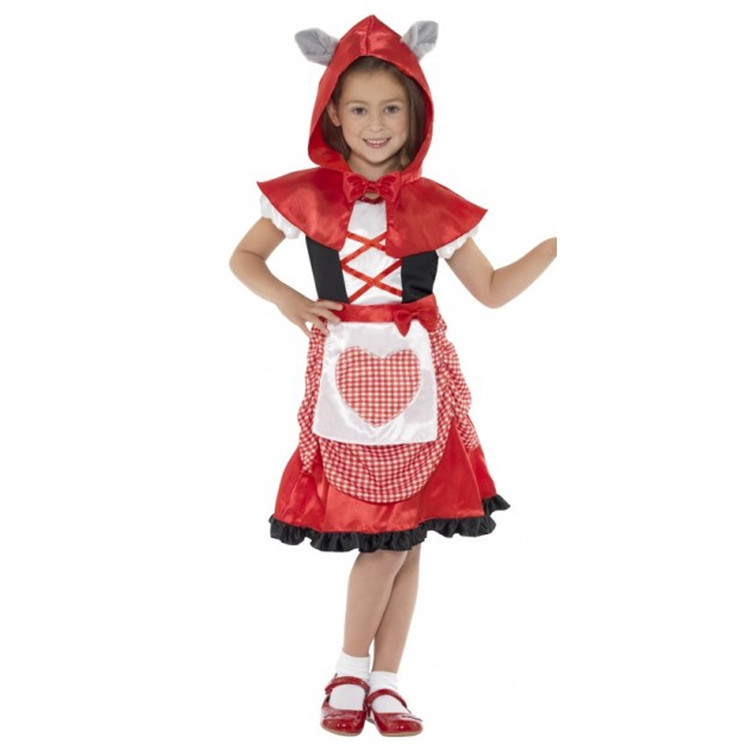 Red Riding Miss Hood Girls Costume