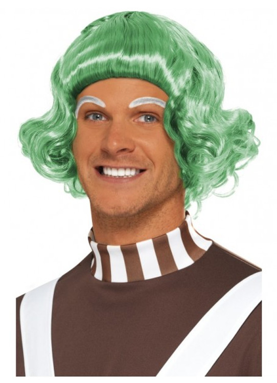 Willy Wonka - Oompa Loompa Candy Creator Green Wig