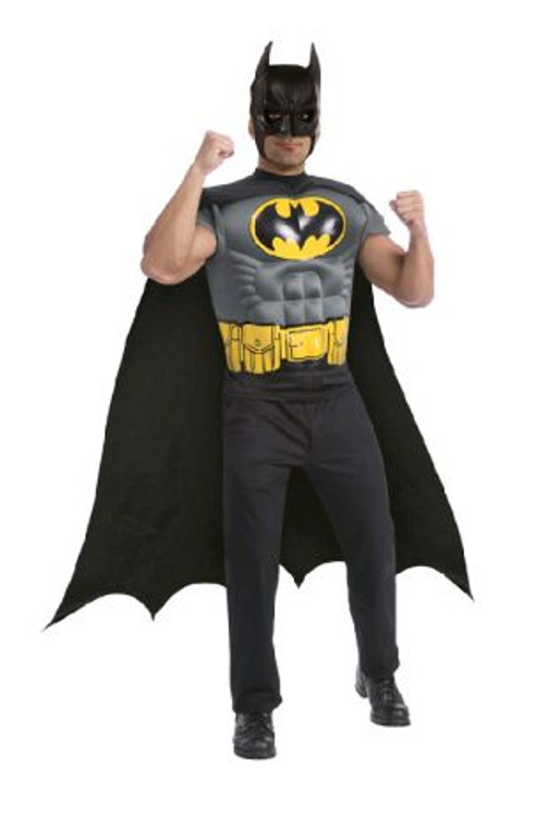 Batman - Muscle Chest Shirt Costume