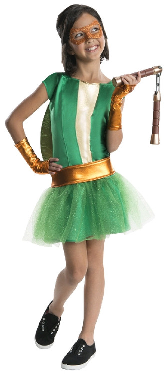 Teenage Ninja Turtle - Michelangelo Tutu Girls Costume