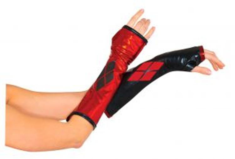 Batman Harley Quinn Gauntlets Womens Costume