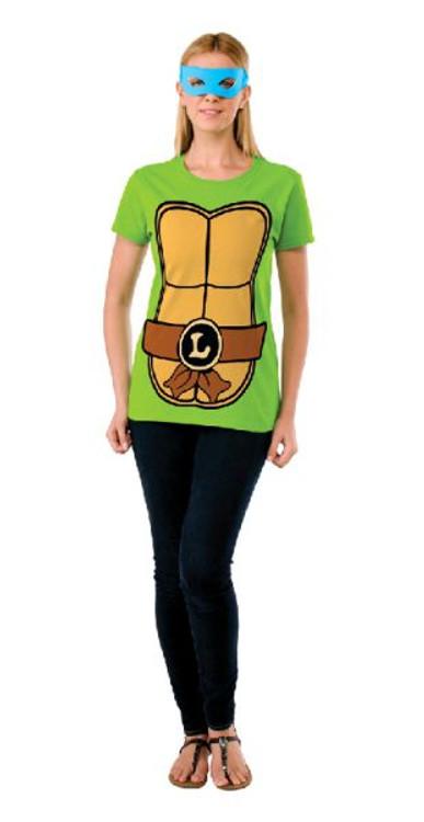 Teenage Mutant Ninja Turtles - Leonardo Teashirt Womens Costume