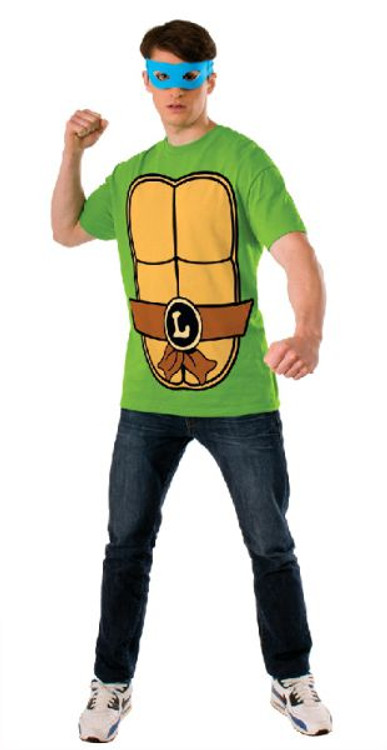 Teenage Mutant Ninja Turtles - Leonardo Teashirt Mens Costume