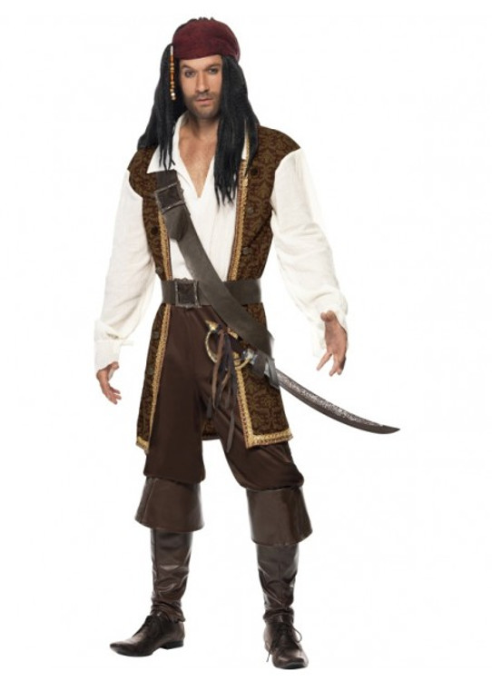 Pirate High Seas Mens Costume