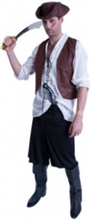 Pirate Caribbean Male Costume