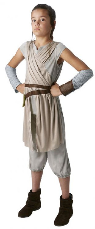 Star Wars - The Force Awakens Rey Deluxe Girls Costume