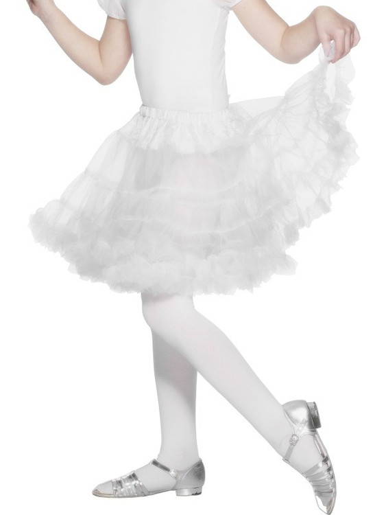 white 1950's petticoat